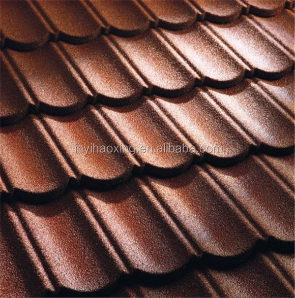 corrugated copper roof