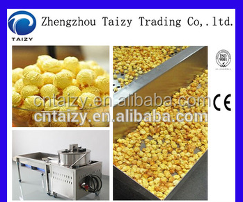 Caramel 50kg/h Popcorn Machine Popcorn Ball Making Machine(whatsapp:0086-15838061675)