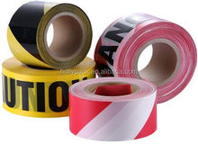 Printed security none adhesive PE warning barrier tape