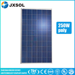 TUV UL approved cheap 250w poly solar panel for solar system