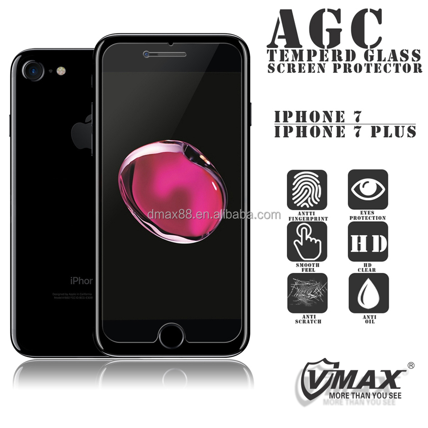 Newest! Factory price mobile phone 0.2mm/0.3mm Tempered Glass Screen protector / film for iphone 7 / 7plus / 6S