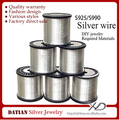 XD XS009 22 Guage Wholesale 925 Sterling Silver Jewelry Making Wire