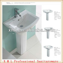 Marketable 3010 bathroom pestal wash sinks