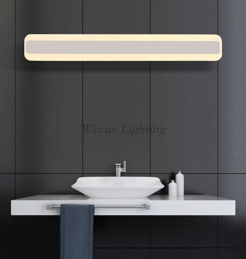 new design bathroom mirror light 85 265v led lavatory wall lamp