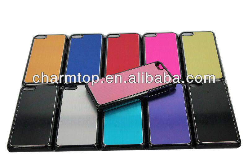 Best Selling Hybrid PC Aluminum Case For Apple iPhone 5C