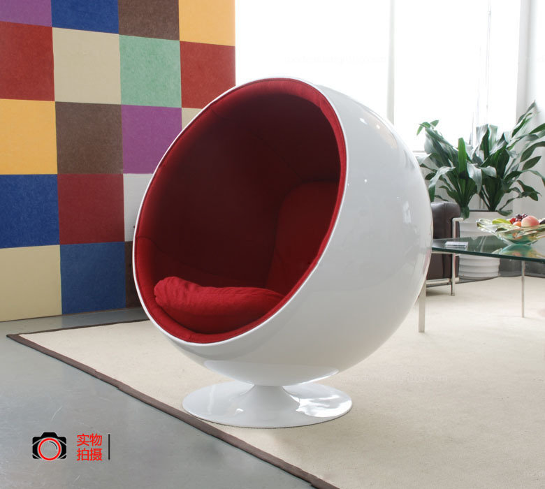 Shenzhen factory modern cheap clear eye ball chair