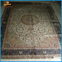 oriental area handmade silk 6x9 turkish rugs