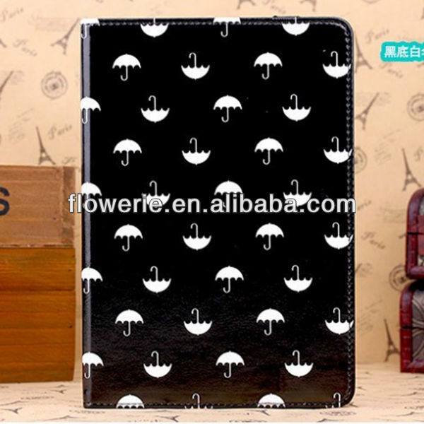 FL3358 2014 Guangzhou high quality stand wallet leather flip case cover for apple ipad mini