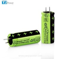 n38.3 msds lithium Titanate battery 2.4V 18650 14450 26650 2000mah rechargeable LTO battery