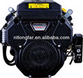 22hp air-cooled twin cylinder petrol engine