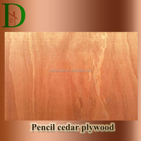 Building construction material pencil cedar light weight plywood