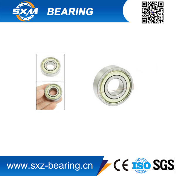 7 * 13 * 4mm deep groove miniature ball bearing MR137ZZ with rubber sealed