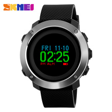 Fashion Top Luxury Brand Smart Watch OLED Display Pedometer Calorie Compass Waterproof Digital Watch SKMEI 1336 Sports Watches