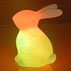 automic color change LED bunny light gift for children bedroom