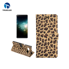 Newest Luxury Leopard Leather Case For Samsung Note 8, case for samsung galaxy note 8 mobile phone