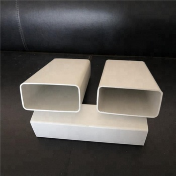 High quality PVC Plastic square drain pipe with all Specification sizes