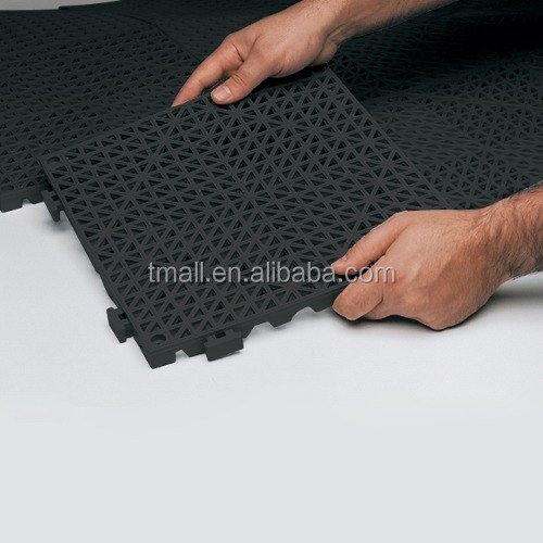Hot sale China factory muti-use interlocking guarage working house PVC Floor Mat 30*30cm