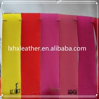 Thin and Soft matte PU leather for box inner lining fabric DH363