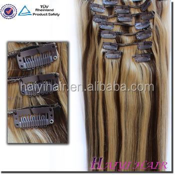 Wholesale Alibaba Remy Virgin Hair 100% Remy Russian Hair Clip In Hair Extension