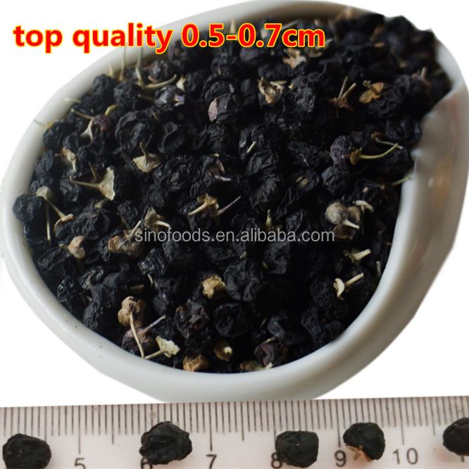 hei gou qi black wolfberry Organic Goji Berries Wolfberry