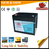 battery for electric start generator 12V75Ah for electric bike,telecom