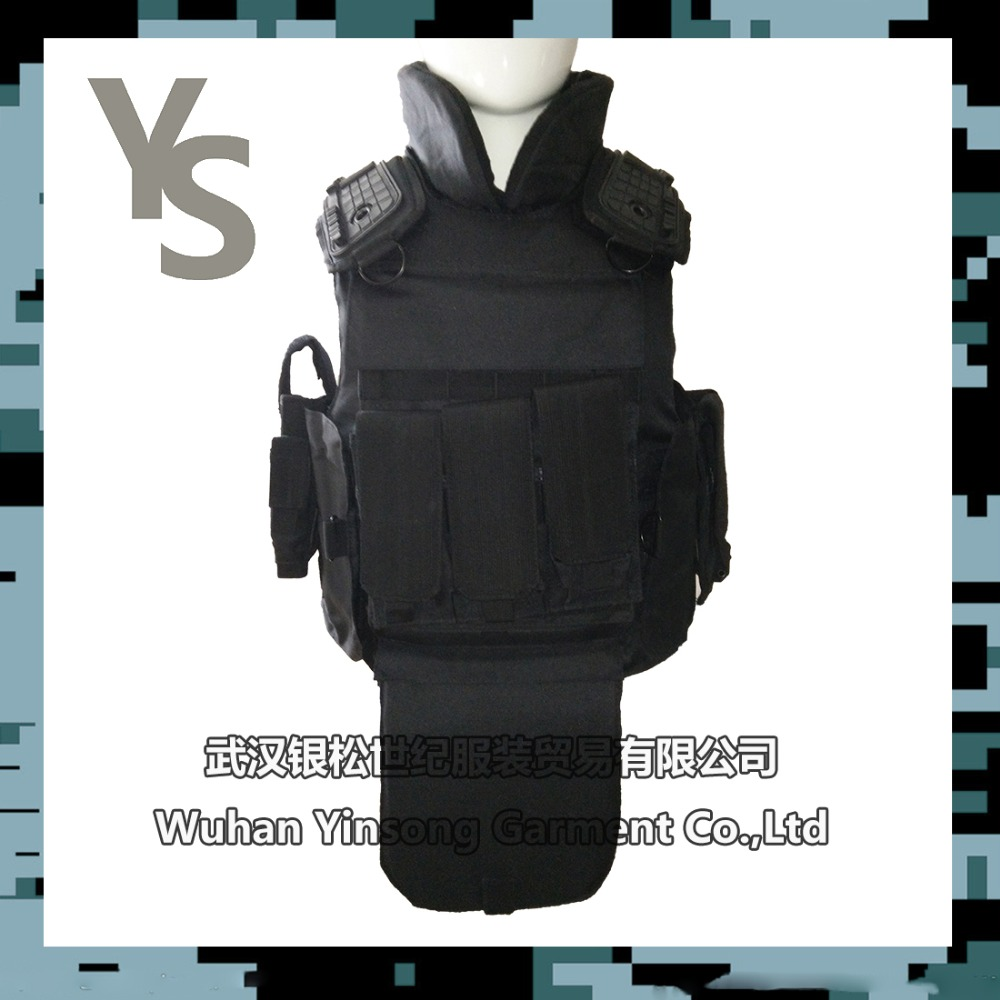 [Wuhan YinSong] Black Anti-Riot Body Armor/Full Body Protective Suit Vest