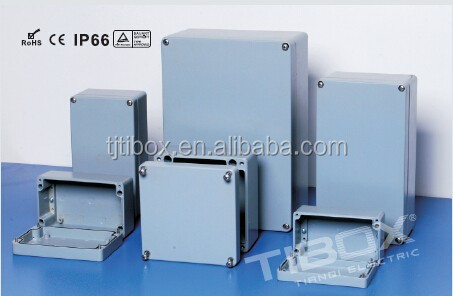 WATERPROOF ecu aluminum enclosure box ip67 for electrical industry, TIBOX
