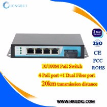5 port poe switch 802.af 15.4w unmanaged network switch