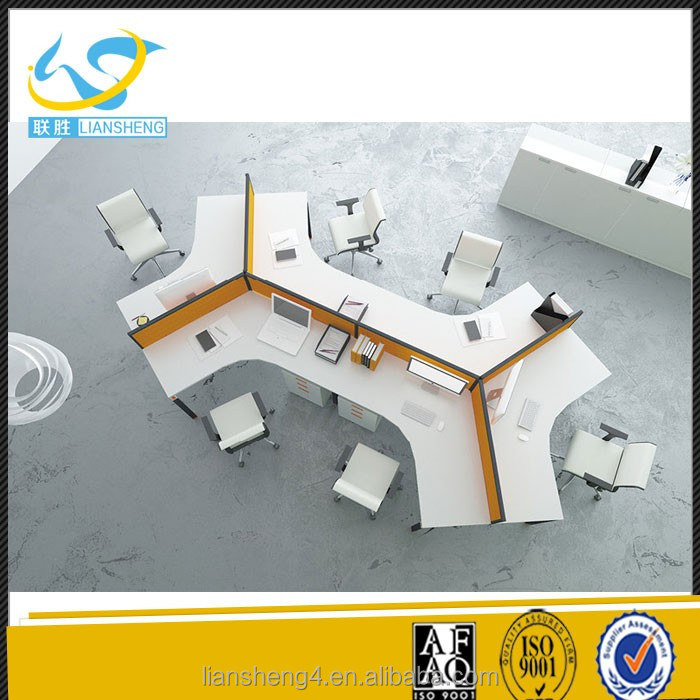 Top 10 office furniture manufacturers modern 120 degree office workstation for 6 person
