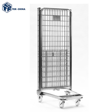 Best Quality Durable Steel Metal Mesh Nestable Roll Cage