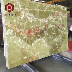 Polished rainforest marble Onyx Stone slab Green Price In Dubai