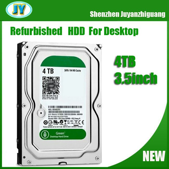 Second hand hard disk drives used hdd sata 4TB hard disk drive for desktop