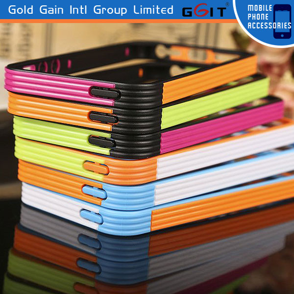 Mobile Phone Colorful TPU+PC Bumper Case For IPhone 4G 5G, Competitive Price Bumper Case For IPhone 4G 5G