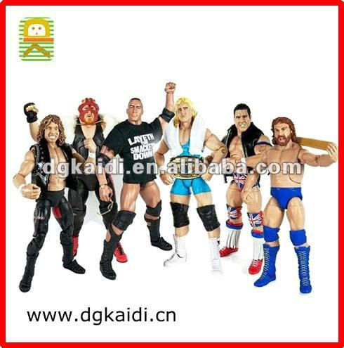 Custom wrestle articulated action figure for sale