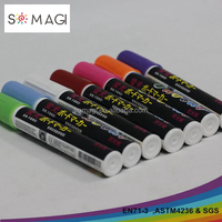 Multi color chalk marker pen, marker paintball