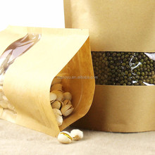 nuts ziplock zipper food snack doypack/kraft paper nuts packing bag