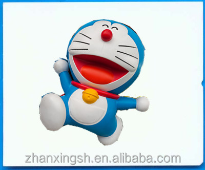 Costom PVC Cartoon Doraemon Characters Inflatable Model Promotion for Advertising