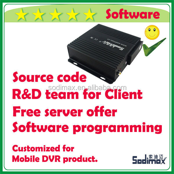 OEM customized software purchasing Mobile DVR for Guatemala