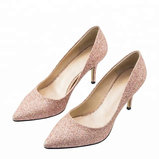 china wholesale ladies silver crystal bridal wedding shoes women <strong>heels</strong>