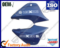 China Motorcycle Body Parts Plastic Side Cover Set Bajaj Boxers BM100