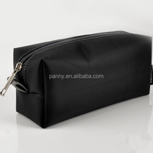 black travel nylon bags cosmetic custom makeup bag for men