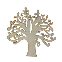 Creative art minds wood craving crafts MDF wooden ornament christmas tree
