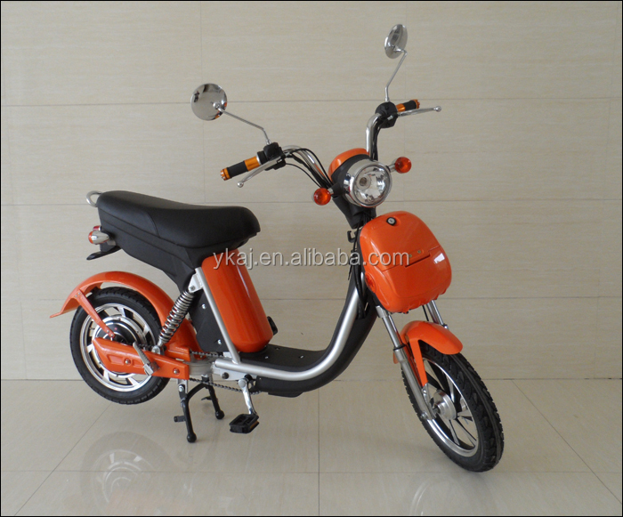 16'' wheel Smart Cheap 48V Pedal Electric Moped For Sale