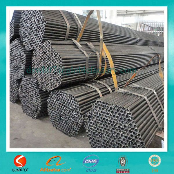cold rolled black annealed Q195 round welded tube made in china