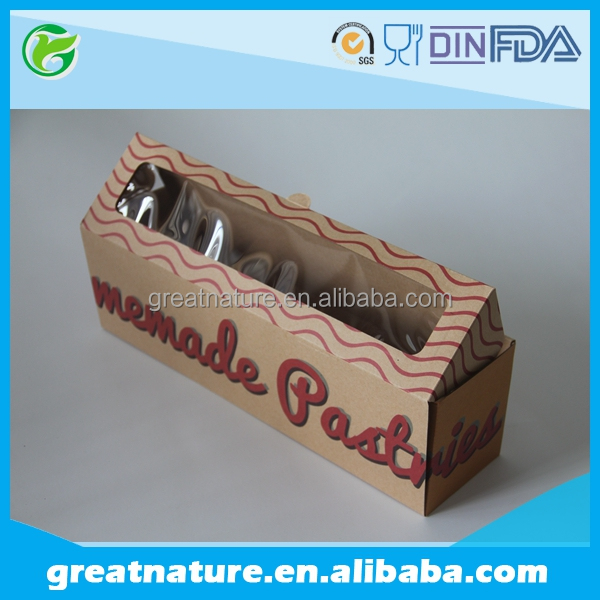 OEM Brown kraft paper box