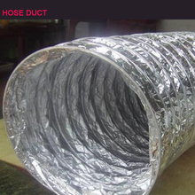 factory the wholesale price pipe for grow tent flexible aluminum foil air conditioning pvc air hose duct spiral duct pricing