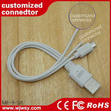 2015 Newest EL light Glowing Round cables, MFi 8pin and Micro USB cables for Apple and Android devices.