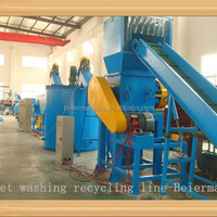 High Efficiency PET Plastic Bottle Recycling