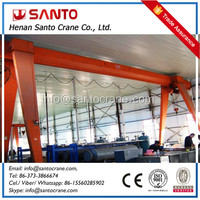 Light Duty Rail Mounted Gantry Crane Drawing