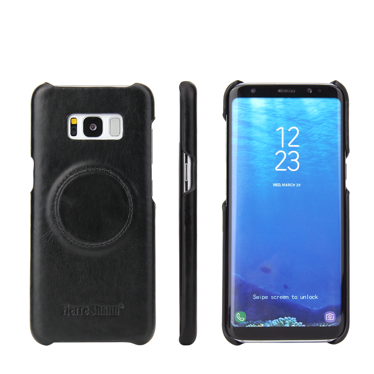 Hot Free sample phone case for galaxy s8 leather case